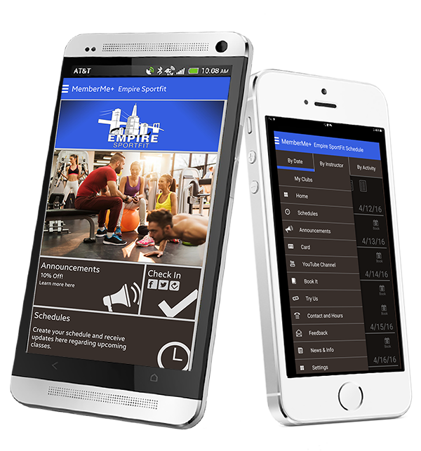 Branded Mobile App for Gyms